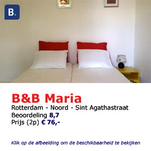 bed and breakfast rotterdam Maria