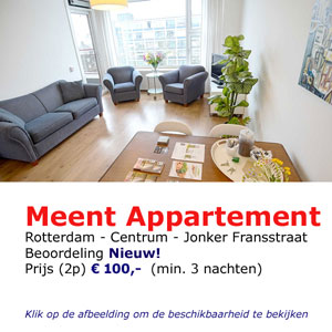 Meent apartment bed and breakfast Roterdam